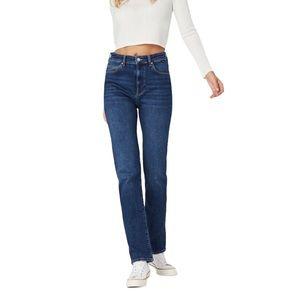 MAVI Veronica High Rise Straight Leg Jeans